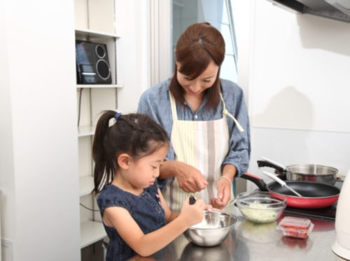 子どもと一緒に料理をしよう